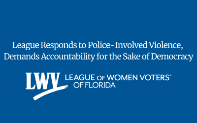 League Responds to Police-Involved Violence, Demands Accountability for the Sake of Democracy